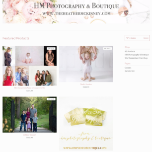 Information » Heather McKinney || HM Photography & Boutique