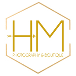 Heather McKinney || HM Photography & Boutique || Shreveport Bossier Barksdale Louisiana logo